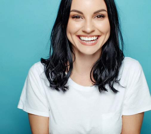 Healthy smile thanks to proper aftercare of dental implants in Prosper